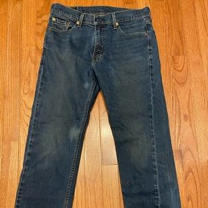 Men's Levi's slim straight jeans